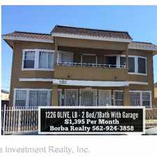 Rental info for 1226 1/2 Olive Ave in the Central Long Beach area