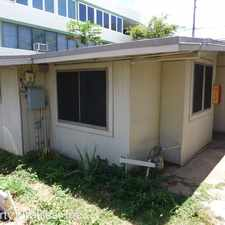 Rental info for 2721 KAPIOLANI BLVD in the Mccully - Moiliili area