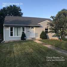 Rental info for 7063 Circleview Dr. in the St. Louis Hills area