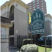Rental info for Marinette Gardens in the Houston area
