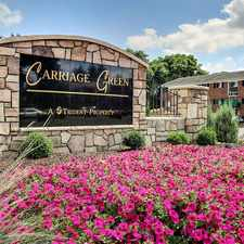 Rental info for Carriage Green
