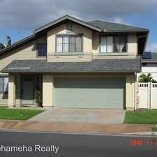 Rental info for 91-1020 Kanio Street