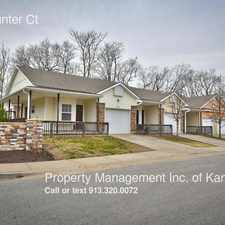 Rental info for 5842 Hunter Ct in the Eastwood Hill East area