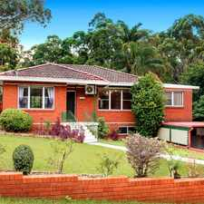 Rental info for Close to Eastwood & within Epping West Public School catchment in the Carlingford area