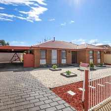 Rental info for Spacious Family Home To Grab ! in the Hoppers Crossing area