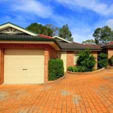 Rental info for Free Standing Villa in the Sydney area