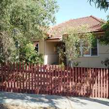 Rental info for ** TO ARRANGE A VIEWING CLICK ON EMAIL/CONTACT AGENT TO REGISTER ** in the Perth area