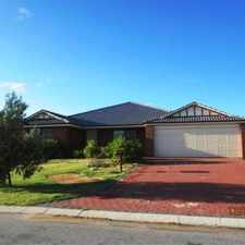 Rental info for DELIGHTFUL ESTABLISHED FAMILY HOME in the Secret Harbour area