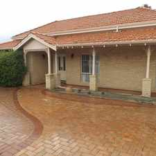 "Rental info for Positioned and Ideally Located in Vibrant ""Ardross""!! in the Ardross area"