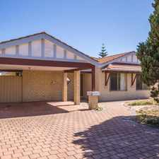 Rental info for Lovely Large Family Home! in the Mullaloo area