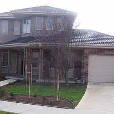 Rental info for EXTRA LARGE MODERN HOME WITH OWN STREET FRONTAGE