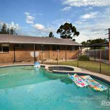 Rental info for Desirable Locale With In-ground Pool! in the Endeavour Hills area