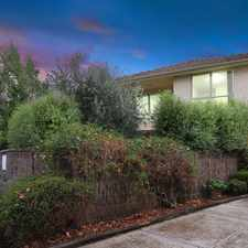 Rental info for Quietly tucked away in this picturesque garden block in the Melbourne area