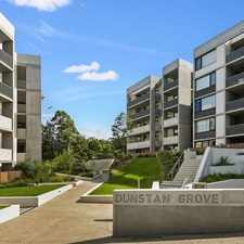Rental info for 2 Bedroom, 2 Bathroom With Modern & Plush Inclusions in the Sydney area