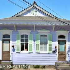 Rental info for 4223 Burgundy in the St. Claude area