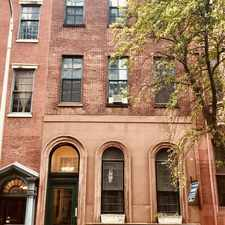 Rental info for 1826 Spruce Street in the Rittenhouse Square area