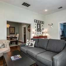 Rental info for House For Rent In Dallas. in the Kings Highway Conservation District area