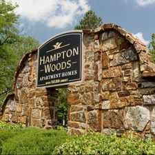 Rental info for Hampton Woods