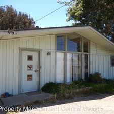 Rental info for W. Foothill Blvd.
