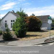 Rental info for 14902 SW Emerald Ct.