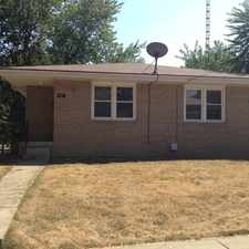 Rental info for 901 Hovey in the Bloomington area