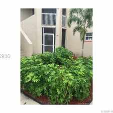 Rental info for 465 Southwest 86th Avenue #108 in the Pembroke Pines area