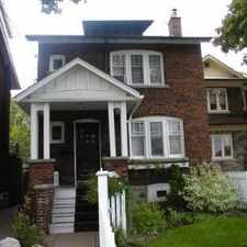 Rental info for 49 Yonge Boulevard in the Lawrence Park North area