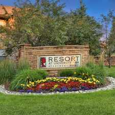 Rental info for Resort at University Park Apartment Homes