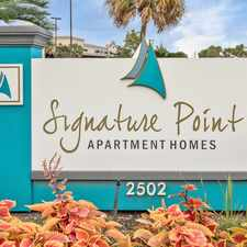 Rental info for Signature Point Apartment Homes in the 77573 area