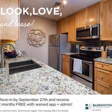 Rental info for Barrington at Mirror Lake Apartments by Cortland