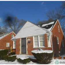Rental info for Beautiful 3 Bedroom Brick Bungalow in Northwest Detroit. S of 8 Mile & E of Lahser. in the Detroit area