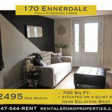 Rental info for 170 Ennerdale Road in the Caledonia-Fairbanks area