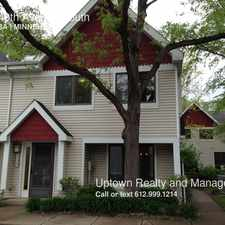Rental info for 5125 40th Avenue South in the Hiawatha area