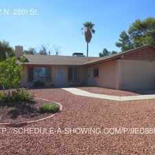 Rental info for 12822 N. 28th St.
