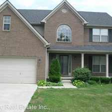 Rental info for 4448 Turtle Creek Way in the Lexington-Fayette area