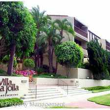 Rental info for 6455 La Jolla Blvd Unit 326