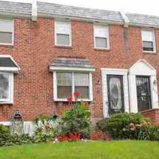 Rental info for 228 64th Ave Philadelphia Three BR, This brick row home set