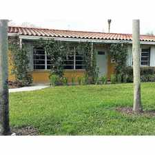 Rental info for 7425 Southwest 118th Street in the Pinecrest area