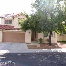 Rental info for 8713 CYPRESSWOOD AVE. in the Sun City Summerlin area