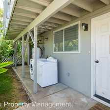 Rental info for 2057B 10th Avenue - (DOWNSTAIRS) in the Palolo area