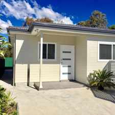 Rental info for Brand New 2 Bed Granny Flat in the Constitution Hill area