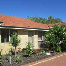 Rental info for SPACIOUS, CONVENIENTLY LOCATED VILLA in the Perth area