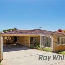 Rental info for VERY SPACIOUS FAMILY HOME -HOME OPEN 24 AUG 4.00 - 4.15 pm