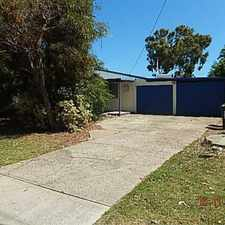 Rental info for 5 bedroom home with powered shed, close to beach, shops and Falcon Primary School