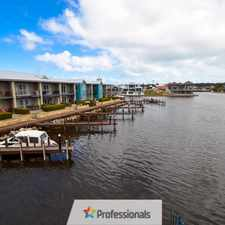 Rental info for Fully Furnished Executive Apartment with a Jetty! in the Mandurah area