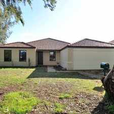 Rental info for FAMILY HOME IN POPULAR BALDIVIS ESTATE