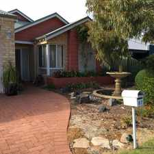 Rental info for Easy Living Home in the Perth area