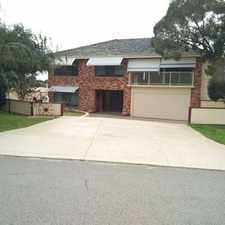 Rental info for JUST RENOVATED BRAND NEW BATHROOMS !! in the Willetton area