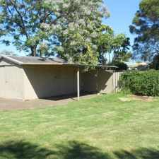 Rental info for FAMILY HOME PERFECT FOR LITTLE LETS OR PAWS