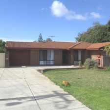 Rental info for FRESH PAINT, FRESH CARPETS, NEW CURTAINS AND NEW KITCHEN! in the Perth area